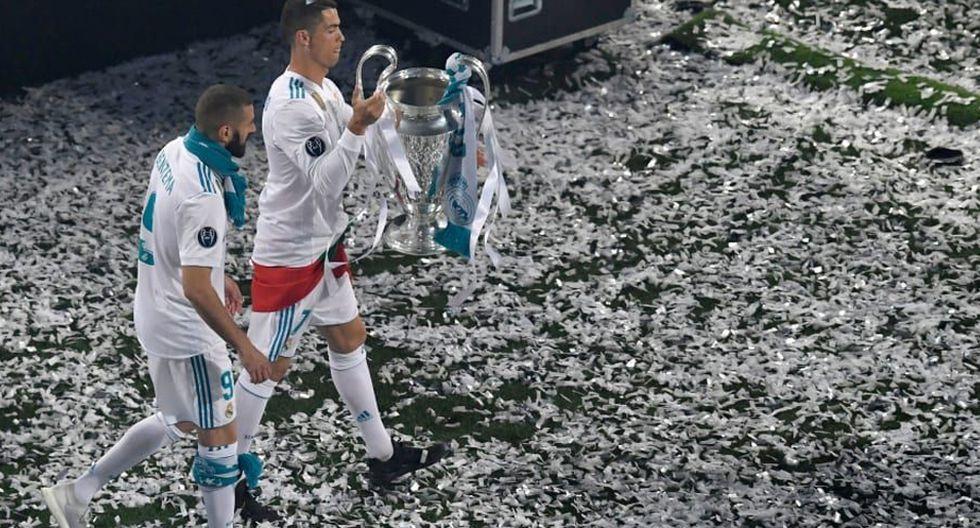 FOTO 1 |Cristiano Ronaldo y Karim Benzema (59) La pareja perfecta. Benzema y Cristiano se complementaban a la perfección en el terreno de juego. Francés y portugués se retroalimentaban con goles y asistencias. Partiendo desde la bando o por el centro, Benzema se encargaba de asistir y generar espacios para la entrada de 'CR7'. Hasta en 59 veces ambos marcaron gol en un mismo partido.
