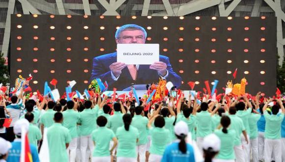 Pekín fue elegida sede de los Juegos Olímpicos de Invierno 2022. (Foto: Difusión)