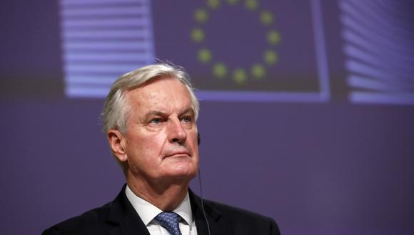 Exnegociador de la Unión Europea (UE) Michel Barnier. (Foto: Francisco Seco / POOL / AFP)