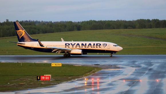 Fue un vuelo de la aerolínea Ryanair que volaba de Atenas a Vilna y que, por orden directa de Lukashenko, aterrizó en Minsk para arrestar al periodista opositor al régimen Román Protasevich. (Foto: EFE/EPA/STRINGER)