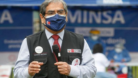 El ministro de Salud, Óscar Ugarte, aseguró Gobierno de Transición y Emergencia seguirá trabajando en la lucha contra la pandemia del COVID-19 hasta el último día de gestión. (Foto: Andina)