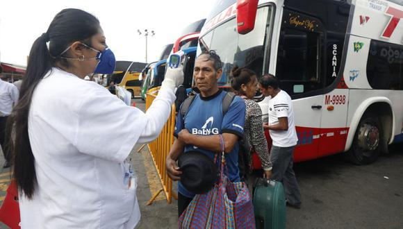 Este 15 de julio se reinician los viajes interprovinciales. (GEC)