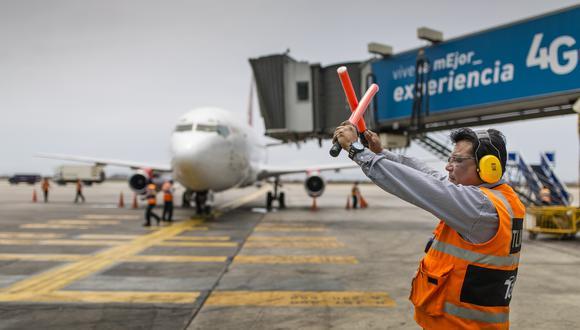 Los vuelos hacia destinos internacionales pueden retomarse con una frecuencia diaria, dijo el presidente de Canatur. (Foto: GEC)