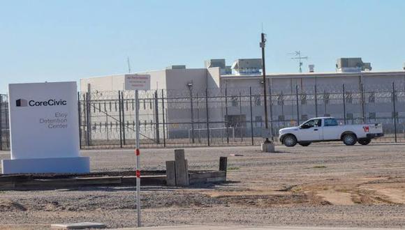 Vista exterior del Centro de Detención de Eloy, en Arizona, Estados Unidos. (Foto: EFE)