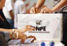 ONPE habilita cursos virtuales para electores, miembros de mesa y personeros