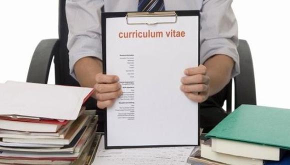 CV es un documento que presenta las habilidades, formación y experiencia laboral de una persona, con el fin de optar a un puesto de trabajo. (Foto: GEC)