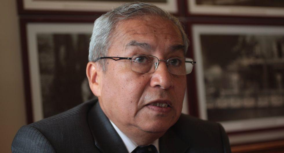 """""""Si por mentir me van a inhabilitar, pues que me disculpen algunos colegas abogados, pero todos tendríamos que dejar la CAL"""", dijo Pedro Chávarry. (FOTO: USI)"""