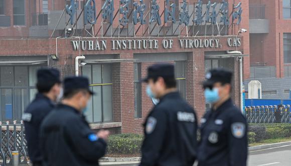 El Instituto de Virología de Wuhan está otra vez en el foco de atención por el origen del coronavirus. (Héctor RETAMAL / AFP).