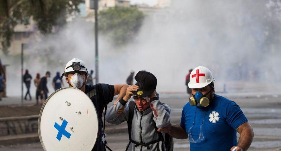 La CIDH inició este lunes su misión en Chile y recibió a representantes de unas 50 organizaciones de la sociedad civil para recabar información sobre vulneraciones a los derechos humanos en el contexto de las protestas sociales. (Foto: EFE)