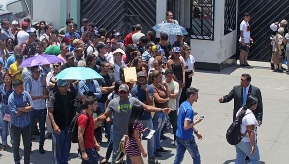 Más de 6.700 venezolanos entran a Perú el último día del plazo para obtener permiso (Foto: USI)