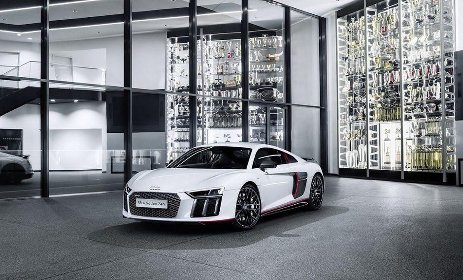 El superdeportivo Audi R8 Coupe V10 Plus Selection 24h Edition