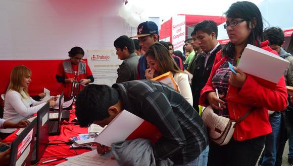 Empleo en Perú. (Foto: GEC)