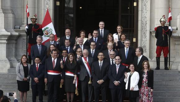 Hoy en la tarde se reunió con varios ministros, incluida la Primera Ministra Mercedes Aráoz. (Foto: USI)