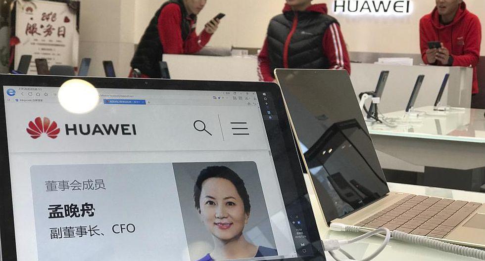 La detención deMeng Wanzhou de Huawei fue solicitado por Estados Unidos. (Foto: AP)