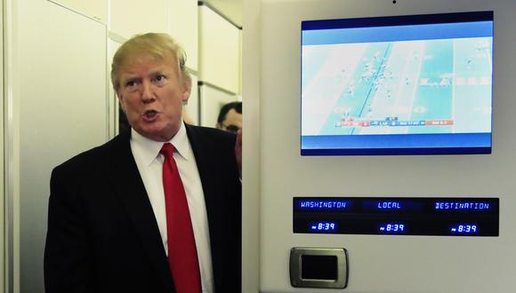 Donald Trump, presidente de Estados Unidos. (Foto: AP)