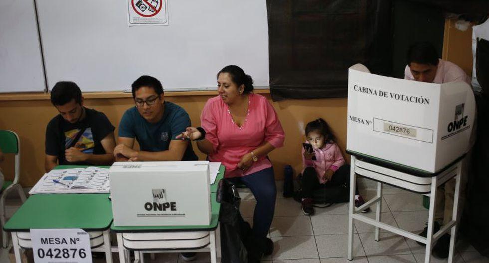 El organismo electoral remarcó que el sorteo se realizará entre los ciudadanos residentes en el extranjero y los jóvenes que cumplan 18 años hasta el 9 de diciembre. (Foto: El Comercio)