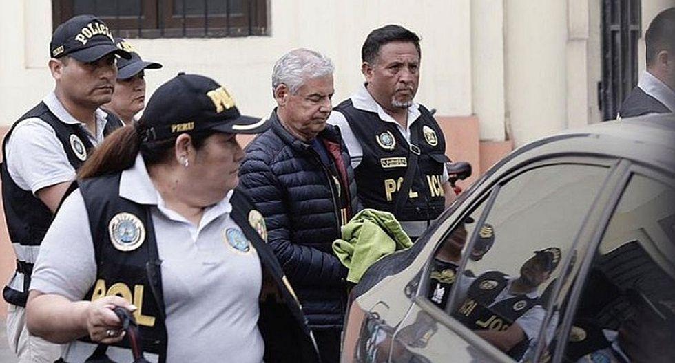 César Villanueva cumple una orden de detención preliminar desde el martes 26 de noviembre. (Foto: GEC)