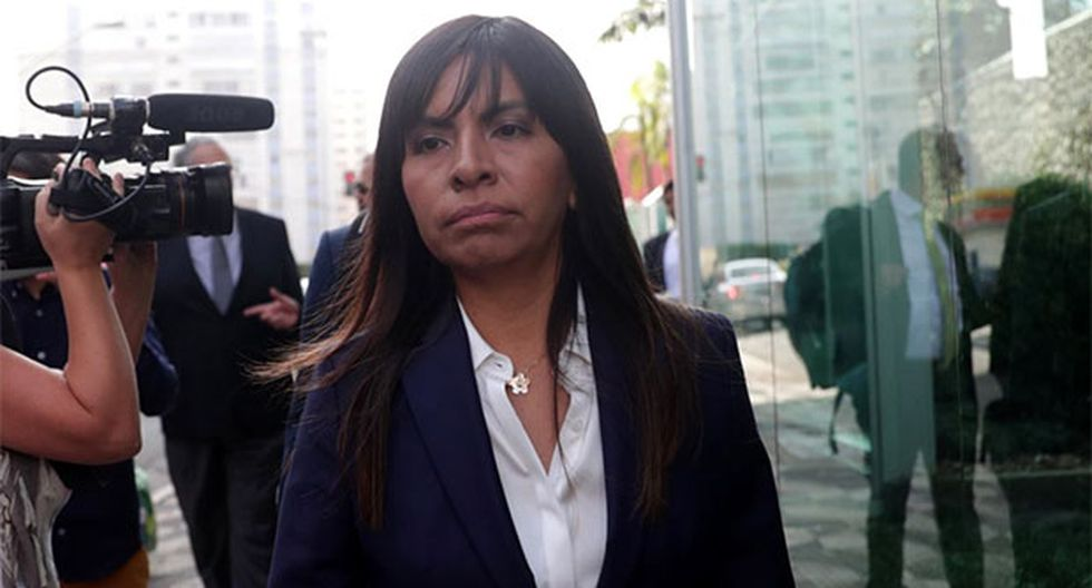 "Giulliana Loza calificó el pedido del fiscal como un nuevo ""abuso"". (Foto: Agencia Andina)"