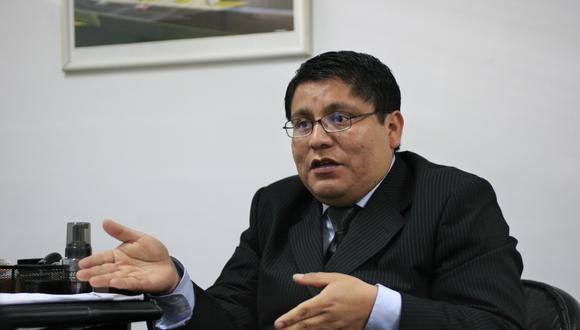 Denuncias. Gremco ya denunció a la Juez que aprobó la medida cautelar por prevaricato y los abogados de Sunat y otros por el delito de organización criminal, dijo José Gamarra. (Foto: Manuel Melgar)