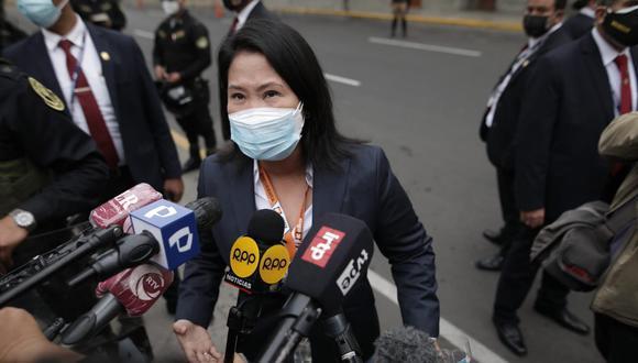 Keiko Fujimori apelará decisión que prohíbe comunicarse con testigos de investigación. (Foto: GEC)