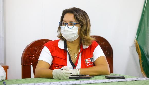 La ministra de Comercio Exterior y Turismo, Rocío Barrios, explicó los alcances del servicio delivery los días domingos. (Foto: GEC)