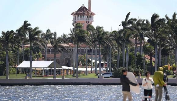El club de golf Mar-a-Lago de Donald Trump en Florida. (Joe Raedle/Getty Images/AFP).