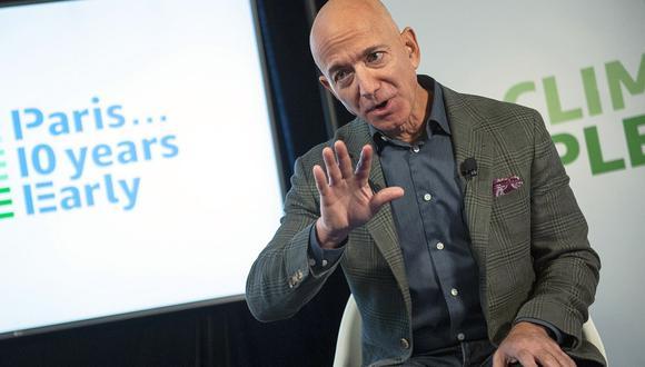 Jeff Bezos, CEO y fundador de Amazon. (Foto: AFP)