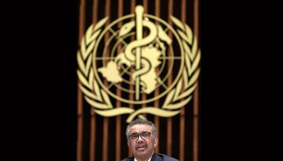 El Director General de la Organización Mundial de la Salud (OMS), Tedros Adhanom Ghebreyesus. (Foto: AFP/Fabrice COFFRINI)