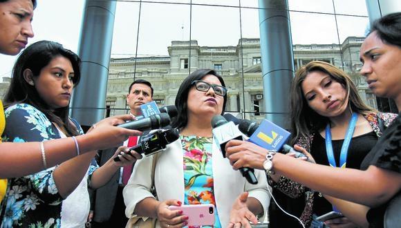 Admisiones. La fiscal Geovana Mori afirma que Odebrecht ratificó su culpabilidad en el caso Gasoducto.  (Foto: GEC)