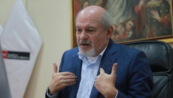 Pedro Cateriano aseguró que confía en que Martín Vizcarra elija a un buen presidente del Consejo de Ministros en su reemplazo. (Foto: Lino Chipana | GEC)