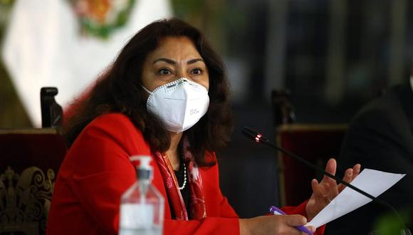 Violeta Bermúdez comenzará a reunirse con las bancadas días antes de que se vote la confianza a su gabinete. (Foto: PCM)