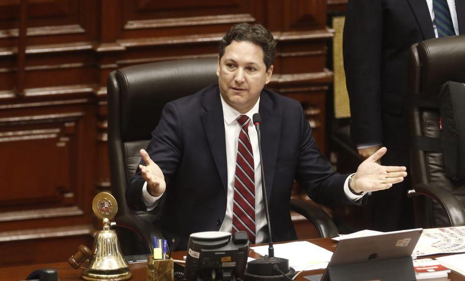 Daniel Salaverry también criticó la actual situación de confrontación política con el Ejecutivo por la actitud de la nueva Mesa Directiva. (Foto: César Campos)