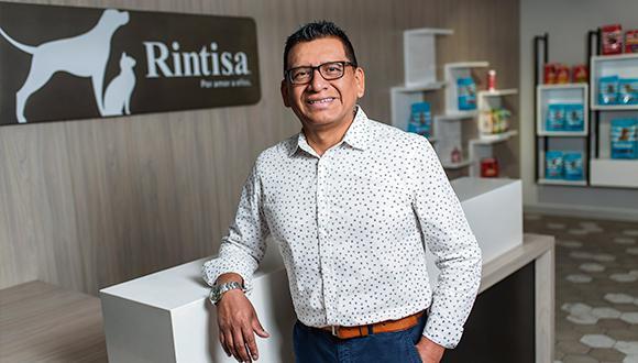 Jesús Chuquilín, gerente comercial de Rintisa.