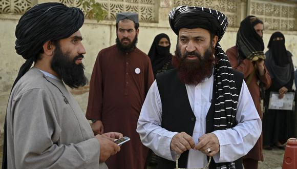 El Departamento de Estado señaló que la reunión no indica que EE.UU. reconozca el gobierno de los talibanes en Afganistán (Foto: WAKIL KOHSAR / AFP)