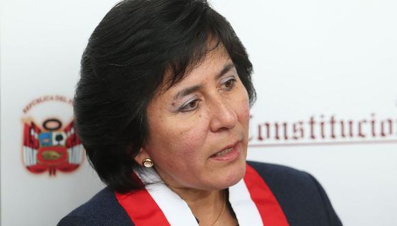 Marianella Ledesma fue elegida como nueva presidenta del Tribunal Constitucional. (Foto: Andina)