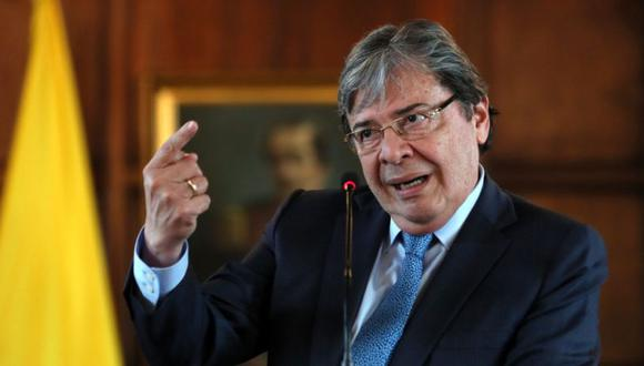 Canciller colombiano Carlos Holmes Trujillo. (Foto: EFE)