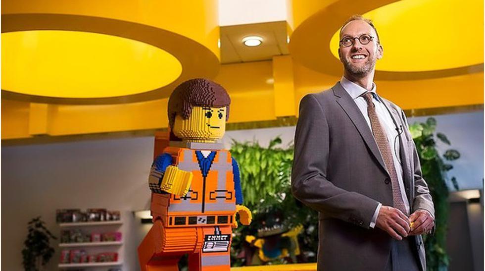 Jorgen Vig Knudstorp, presidente de Lego, reporta ganancias en una empresa que estuvo cerca del colapso financieras hace unos años. (Foto: borsen)