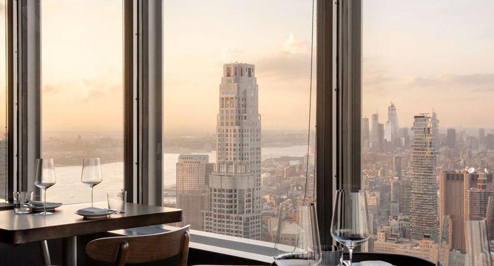 FOTO 9 | Nueva York: Manhattan. Encima del antiguo edificio Chase Manhattan. Vistas estelares, linaje corporativo y varias alternativas de habitaciones.