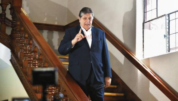 El miércoles 19 de junio el fiscal José Domingo Pérez solicitó al Poder Judicial la incautación del teléfono celular que usaba el expresidente Alan García retenido desde su fallecimiento. (Foto: GEC)