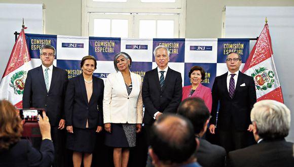 La Junta Nacional de Justicia (JNJ) llevará adelante el proceso de elección de los nuevos jefes de la ONPE y del Reniec.  (Foto: Alessandro Currarino/GEC)