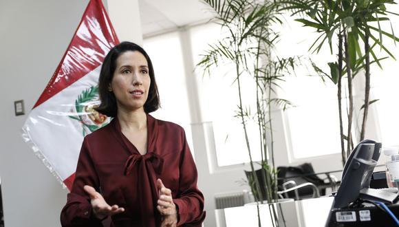 Ministra de Comercio Exterior y Turismo, Claudia Cornejo (Foto: Mincetur | Difusión)