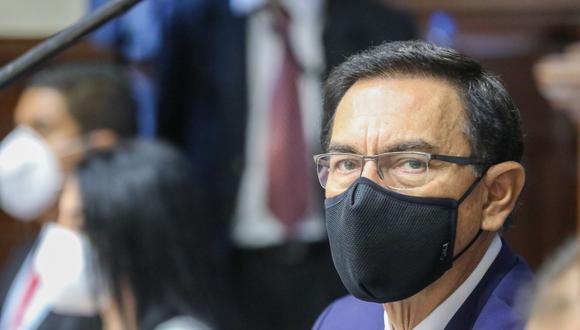 Martín Vizcarra, impedido de ejercer el cargo de congresista. (Foto: Andina).