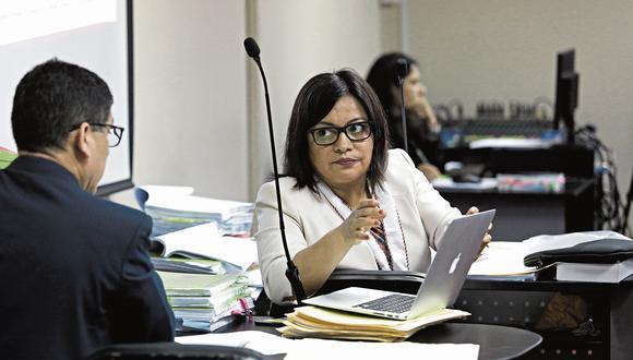 La fiscal Geovana Mori ahora tiene 36 meses para concluir con la investigación preparatoria del caso Gasoducto. (Foto: Anthony Niño de Guzmán)