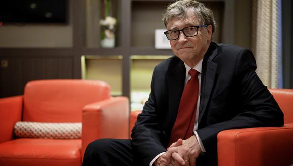 Bill Gates busca apoyo para los esfuerzos que lleva a cabo la Coalición para las Innovaciones en Preparación para Epidemias (CEPI) para hallar una vacuna contra el coronavirus Covid-19. (Foto: JEFF PACHOUD / AFP)