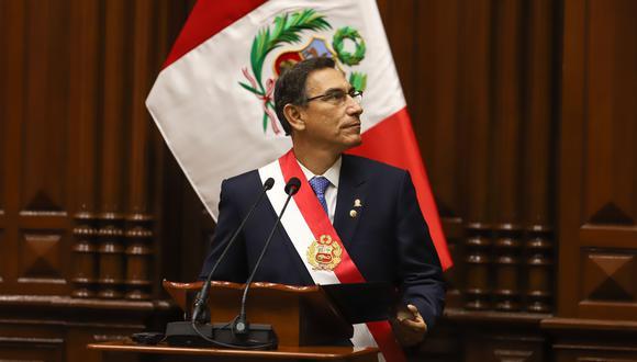 Queda en manos de la fiscal de la Nación, Zoraida Ávalos, la decisión o no de investigar a Vizcarra, señaló el fiscal. (Foto: GEC)
