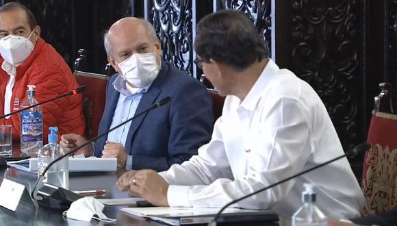 Pedro Cateriano dijo que Martín Vizcarra es quien define las políticas del Gobierno, y no él. (TV Perú)