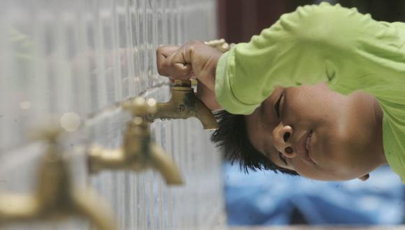 Sedapal pidió hacer un uso responsable del agua. (El Comercio)