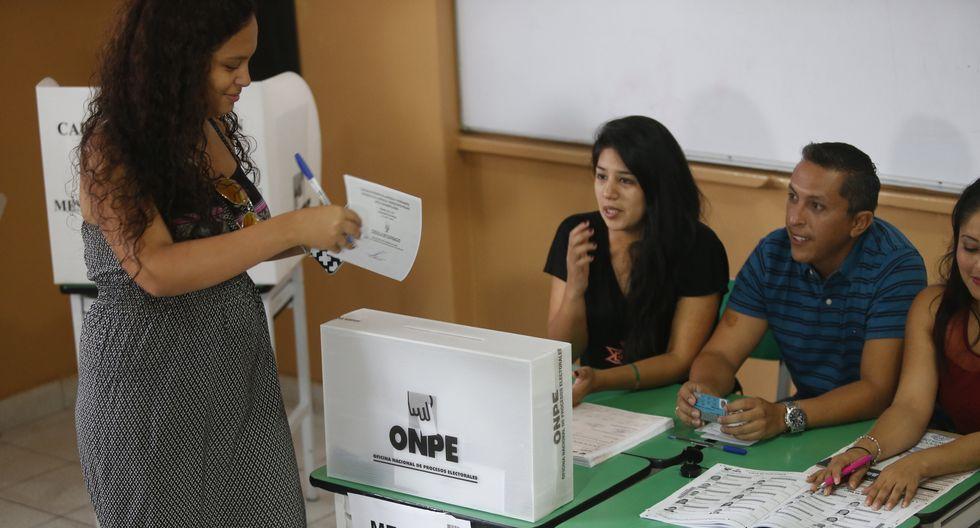 Las Elecciones Congresales Extraordinarias 2020 se llevarán a cabo el próximo 26 de enero. (Foto: GEC)