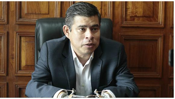 Luis Galarreta aseguró que las expresiones de Rafael López Aliaga no forman parte de la campaña de Fuerza Popular.  (Foto: GEC)