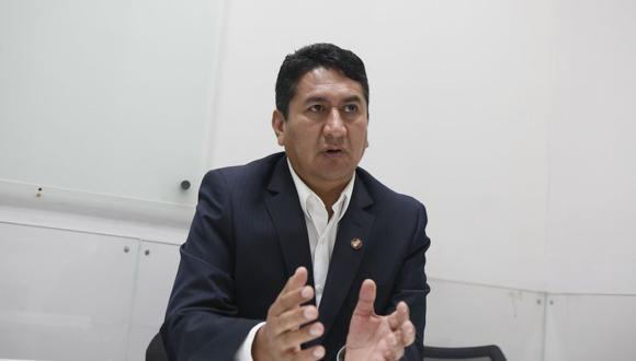 Vladimir Cerrón Rojas, de Perú Libre (Foto: GEC)
